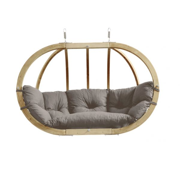 'Globo Royal' Taupe Hamac Chaise