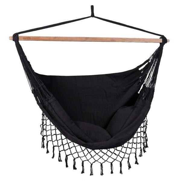 DeLuxe Black Hamac Chaise