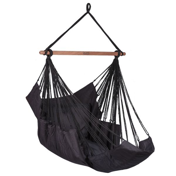 Sereno Black Hamac Chaise
