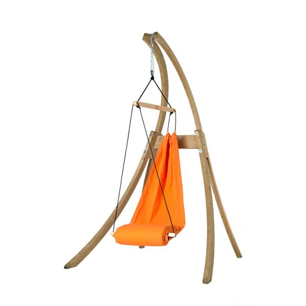 'Hangover' Orange Hamac Chaise