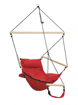 Swinger Red Hamac Chaise