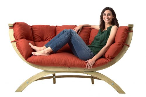 Siena Royal Terracotta Chaise lounge
