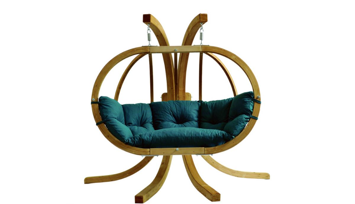 'Globo Royal' Green Hamac Chaise