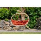 Globo Royal Terracotta Hamac Chaise avec Support