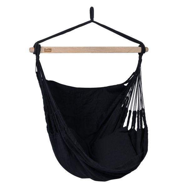 'Comfort' Black Hamac Chaise