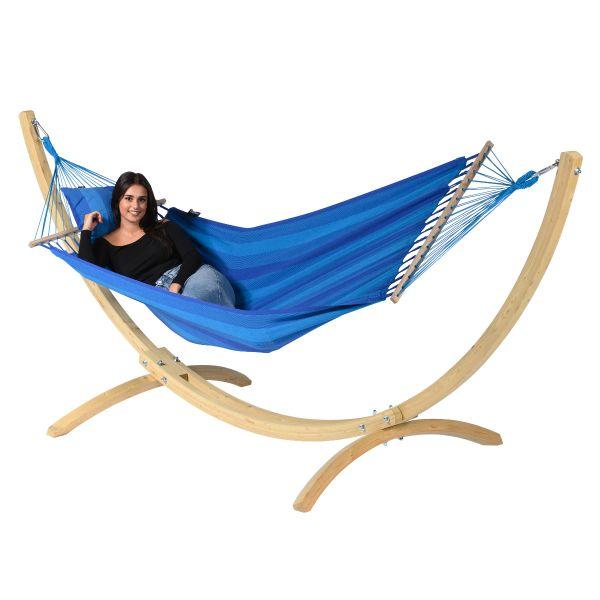 'Relax' Blue Hamac Une Place